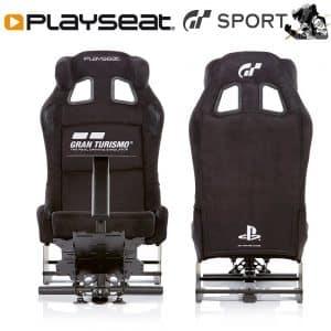 Des logos officiels Gran Turismo et PlayStation sont ajoutés sur le dossier